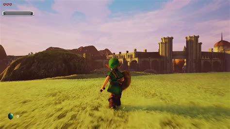 See Legend of Zelda Ocarina of Time in Unreal Engine 4 in