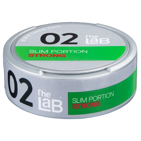 The Lab 02 Strong Portion | Buy Swedish Snus from mysnus