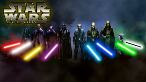 Lightsaber Colors and Meanings UPDATED (Canon) - Star Wars