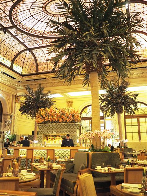 Afternoon Tea at The Plaza Hotel, New York - Dreams of Velvet