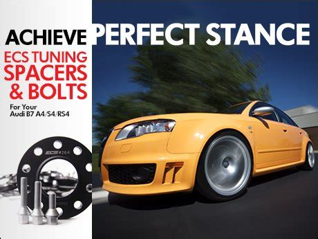 ECS News - Audi B7 A4/RS4/S4 Wheel Spacers - Page 1