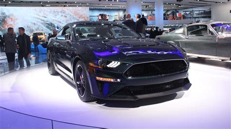 New Ford Mustang Bullitt Is Mean And Green In Detroit