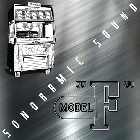 """AMI Model F """"SONORAMIC SOUND"""" Vinyl Decal for Front Glass"""