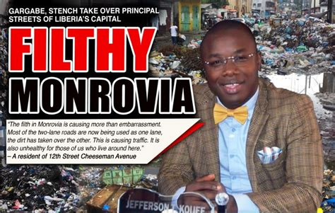 Filth Takes over Liberia's Capital, Monrovia – FrontPageAfrica