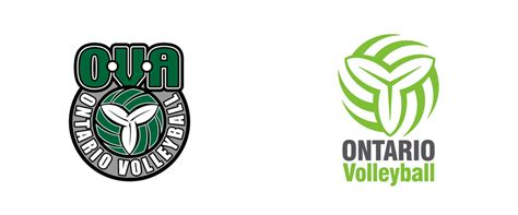 Brand New: New Logo for Ontario Volleyball Association by