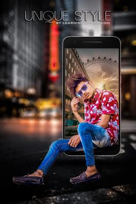 3d mobile fly city photo editing picsart tutorial 2019