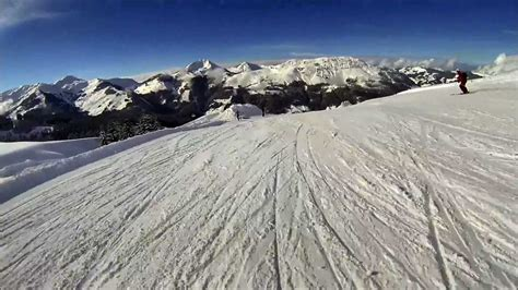 Skiing Kitzbühel - First Person View of run 27 Brunn - YouTube
