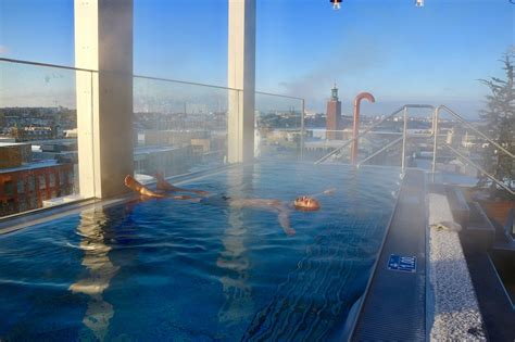 One of the best rooftop pools in northern Europe, at