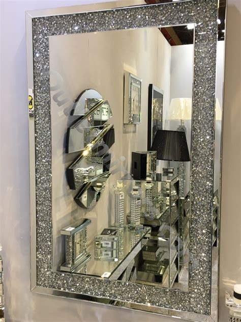 *special offer* New Diamond Crush Sparkle Wall Mirror