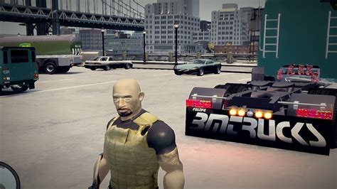 GTA 4 Fast and Furious 6 TDM The Rock Dwayne Johnson in