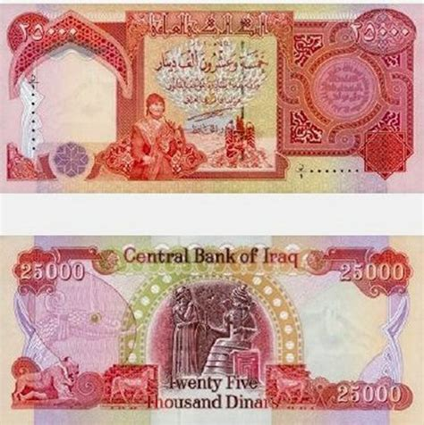 Iraqi dinar - currency | Flags of countries