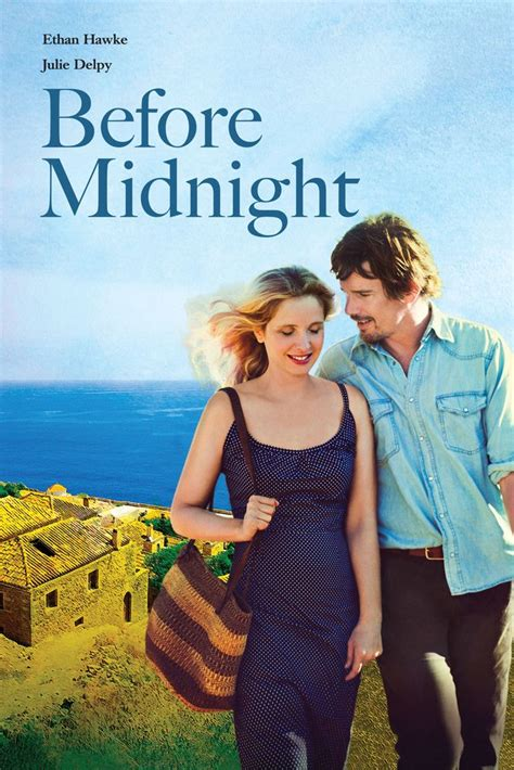 Before Midnight Movie Poster - Ethan Hawke, Julie Delpy