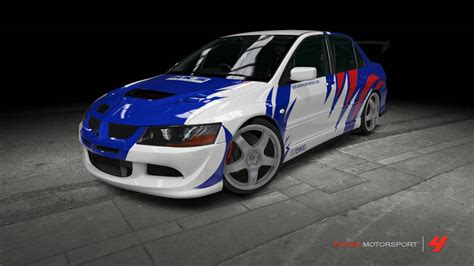Mitsubishi Lancer EVO VIII - NFS: Most Wanted by