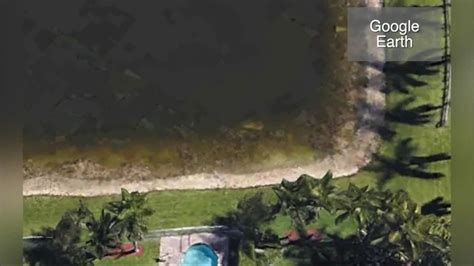 Google Earth helped locate a submerged car in a Florida